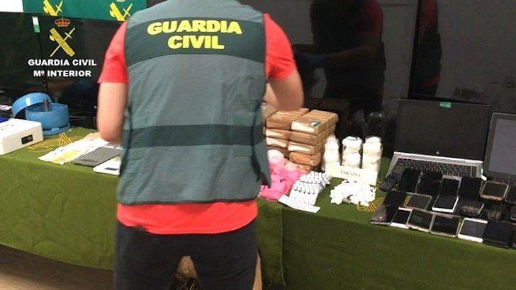 Veinte detenidos en Guadalajara y otras provincias en una operación contra una red que vendía una peligrosa droga