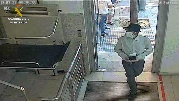 La Guardia Civil de Toledo frustra el robo de dinero de un furgón blindado