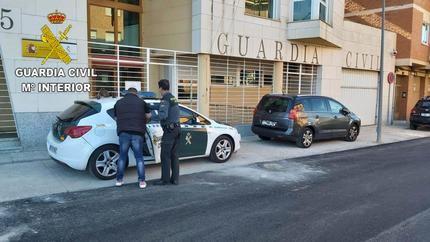 La Guardia Civil detiene a dos personas por tráfico de drogas en Sigüenza