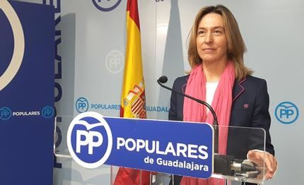 """Ana Guarinos asegura que Ciudadanos ha cruzado todas las líneas rojas en CLM, y que """"se ha entregado en bloque al PSOE, y también a Podemos"""""""