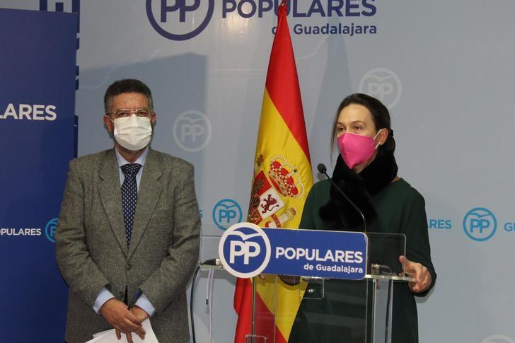"""Guarinos afirma que los presupuestos regionales de Page """"son de nuevo una oportunidad perdida para Guadalajara"""""""