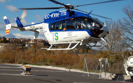 Rescatan a una mujer accidentada cerca del Ventado del Diablo, en Villalba de la Sierra