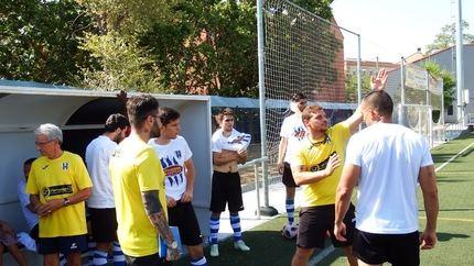 El Hogar Alcarreño inicia sus partidos de pretemporada en Carabanchel, 1-1
