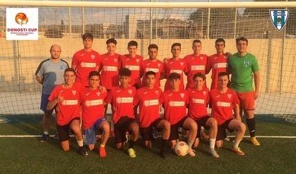 El Hogar Alcarreño juvenil participa en la Donosti Cup-2019