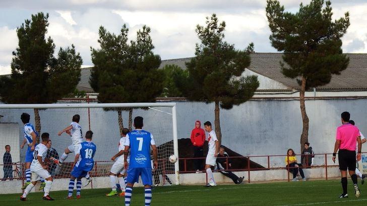 Inmerecida derrota, 1-0, del Hogar Alcarreño