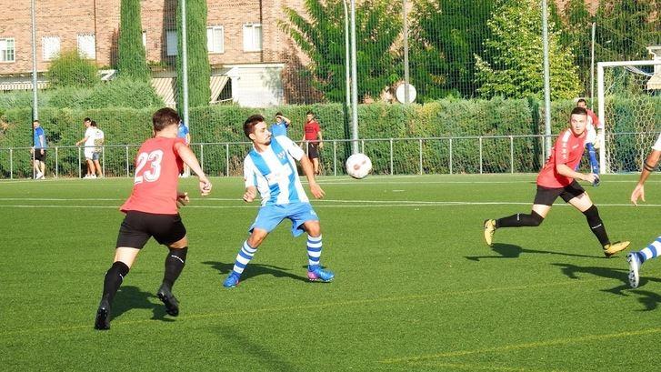 Victoria , 2-0, del Hogar Alcarreño