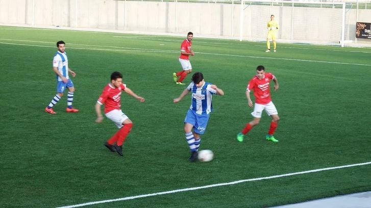 El Hogar Alcarreño derrota, 3-1, al corazón Titán