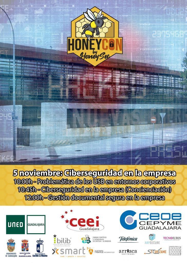 CEOE-CEPYME Guadalajara y el CEEI alcarreño en el 5º Congreso Honeycon by Honeysec