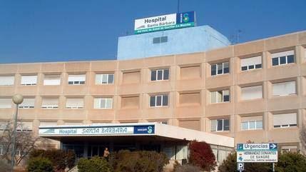Una avería provoca filtraciones de agua en el Hospital de Puertollano