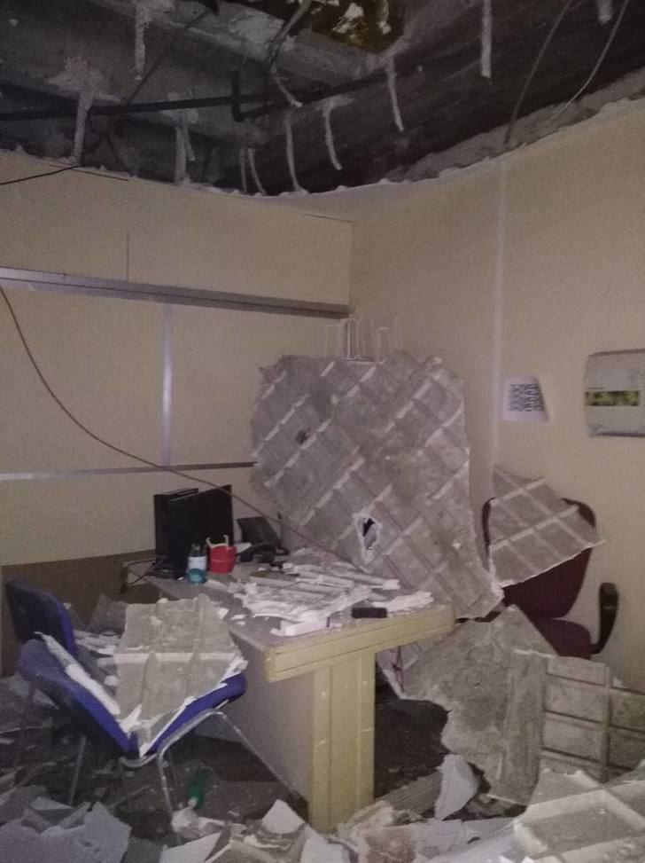 """Se hunde el techo de la consulta de rehabilitación del hospital de Toledo : """"El Virgen de la Salud de Toledo se cae a trozos"""""""