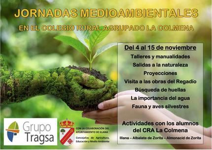 Tragsa y el Ayuntamiento de Illana organizan dos semanas de talleres medioambientales para los escolares de la zona