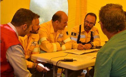 Nivel 1 por la gravedad del incendio de Barchín en Cuenca que ha quemado ya 2.000 hectáreas