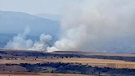 Controlado el incendio forestal de Úceda que ha afectado a 20 hectáreas de zona agrícola