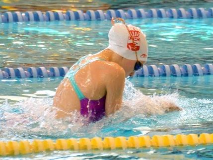 La nadadora guadalajareña Inés Sancho campeona de España en 100 metros braza