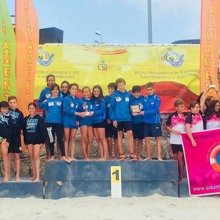Los infantiles del Alcarreño de Salvamento y Socorrismo, campeones de España