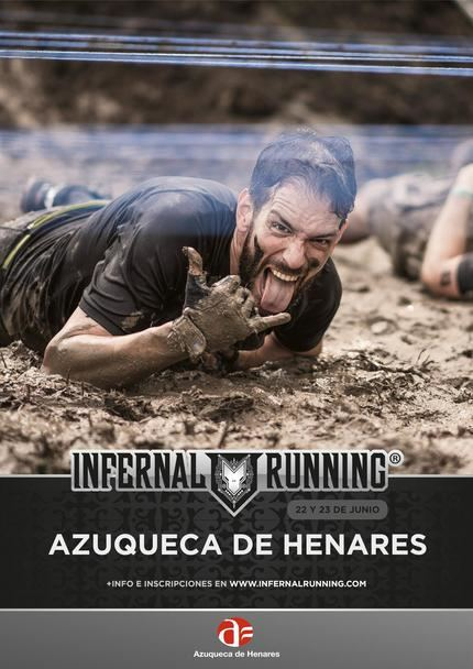 El domingo, 23 de junio, la carrera de obstáculos 'Infernal Running' vuelve a Azuqueca