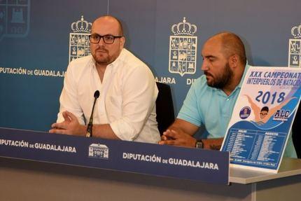 El sábado comienza el XXX Interpueblos de Natación que organiza la Diputación de Guadalajara