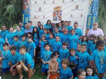 Intenso fin de semana del XXX Interpueblos de Natación que organiza la Diputación de Guadalajara