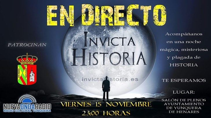 Yunquera de Henares se sumergirá con 'Invicta Historia' en el misterio y la investigación