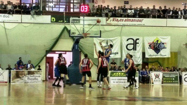 El Isover Basket Azuqueca murió en Almansa con las botas puestas