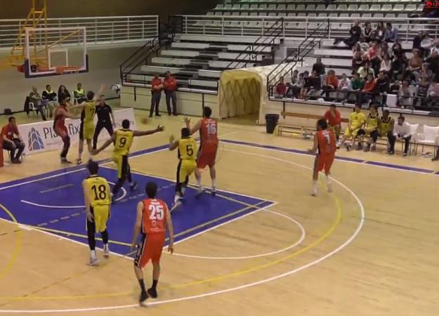 El Isover Basket Azuqueca dio la cara ante un potente Basket Navarra