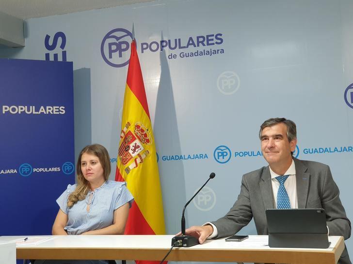 El PP demuestra que Alberto Rojo ha dejado perder 3,5 millones de euros en empleo para la ciudad de Guadalajara