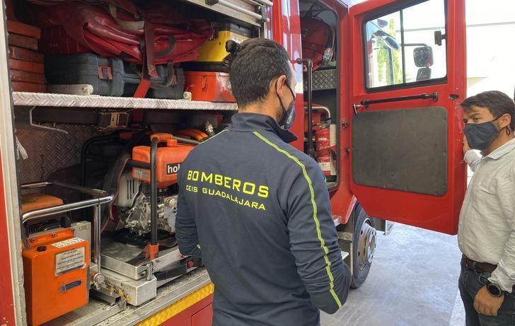 VOX pide más bomberos y tender a los microparques en la provincia de Guadalajara