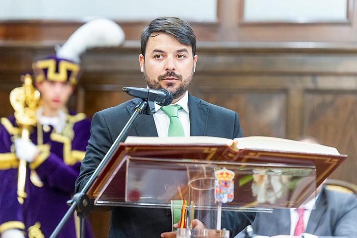 """Iván Sánchez destaca que """"VOX ha llegado también a la Diputación de Guadalajara para quedarse y ofrecer otra forma de hacer política"""""""
