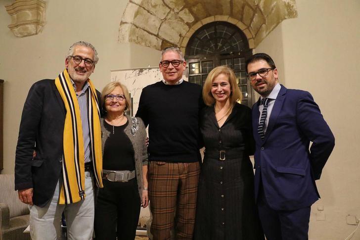 Boris Izaguirre presentó anoche en Sigüenza 'Tiempo de Tormentas'