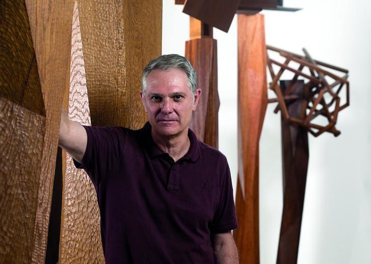 Museo Francisco Sobrino de Guadalajara : La canción está sonando, Exposición de esculturas y dibujos de Jorge VARAS