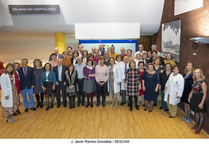 El Hospital acoge la fiesta de homenaje a los profesionales del Área Integrada de Guadalajara jubilados durante el presente año