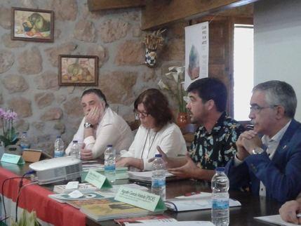 IU Guadalajara participa en las Jornadas sobre Despoblación celebradas en Camprovin en La Rioja