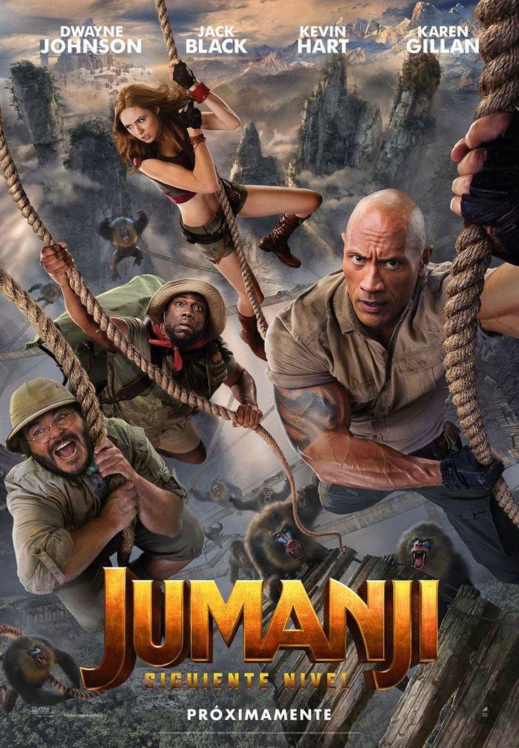 Jumanji : siguiente nivel