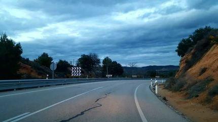 El Ayuntamiento de Pareja denuncia el estado de la N-204 por la reiteración de accidentes
