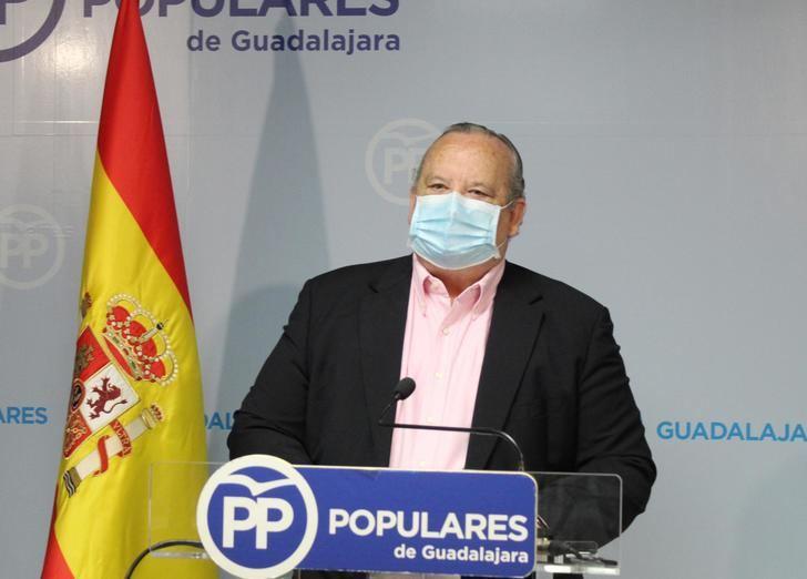 El PP critica el rechazo de Page a la propuesta de creación de una mesa de Reconstrucción en Castilla-La Mancha en la que participen los grupos políticos, el gobierno y la sociedad civil