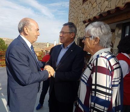 José Manuel Latre felicita a Cruz Roja por la remodelación de la sede de Sigüenza destacando el trabajo de los voluntarios
