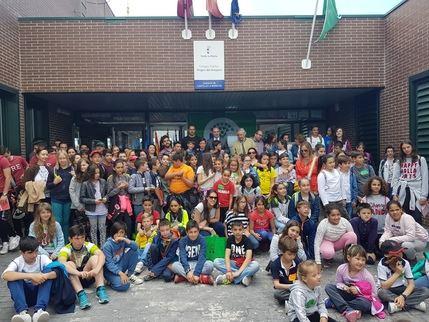 Seis centros escolares renuevan 'Bandera Verde' y uno la recibe por primera vez dentro del proyecto Ecoescuelas que promueve la Diputación de Guadalajara