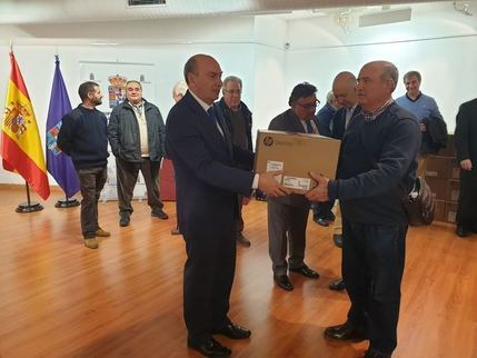 La Diputación de Guadalajara renueva los equipos informáticos de 143 ayuntamientos de la provincia