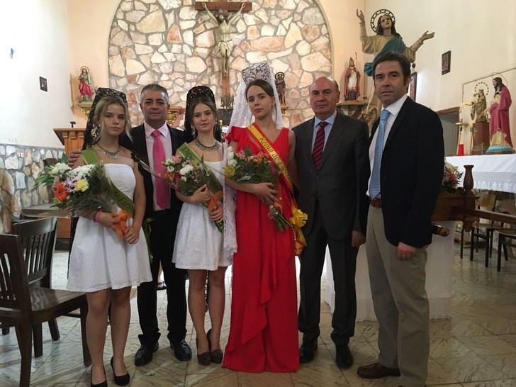 El presidente de la Diputación, en las fiestas de Espinosa de Henares