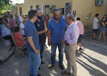 José Manuel Latre resalta la labor y compromiso de los vecinos de Huetos con el proyecto Karangasso