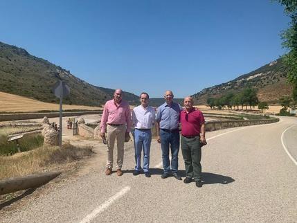 José Manue Latre y Alberto Domínguez asisten a las III Jornadas Blancas en Saelices de la Sal