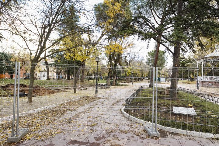 El ayuntamiento de Guadalajara inicia la mejora del parque de La Concordia