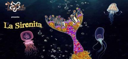"""Llega a Guadalajara el espectáculo teatral acuático """"La Sirenita y un príncipe de cuento"""""""
