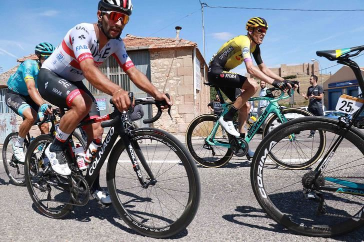 Sigüenza saludó el paso de La Vuelta