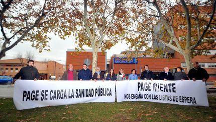 Denuncian que el Gobierno de Page/Podemos ha incrementado en 11.257 los pacientes que esperan en los tramos más largos