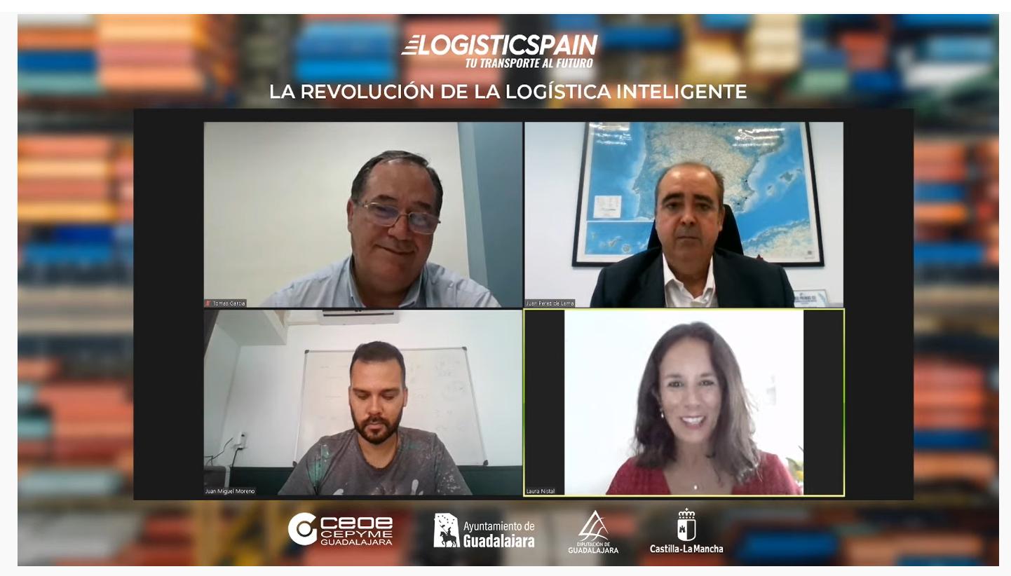 La 'Smart Logistics', en el epicentro del primer encuentro online Logistics Spain 2021 en Guadalajara