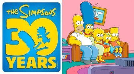 Los Simpsons cumplen 30 años de vida