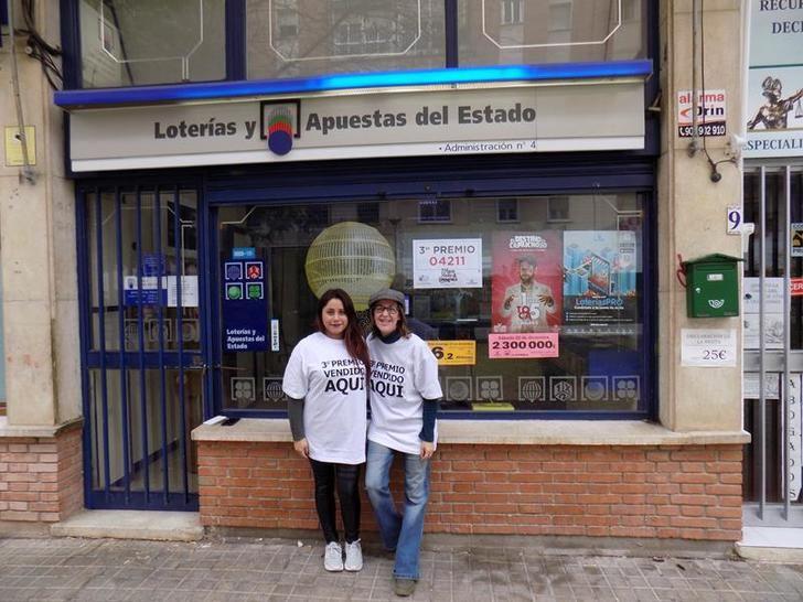 Parte del tercero, un cuarto y un quinto Premio del Sorteo de Navidad cae en Guadalajara capital y Molina de Aragón