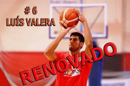 El ala-pivot venezolano Luis Valera renueva por cuarta temporada consecutiva con el Isover Basket Azuqueca