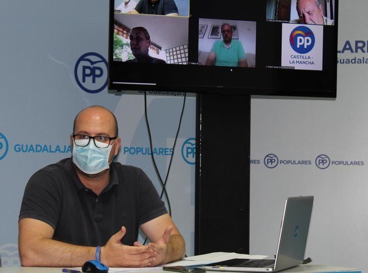 El Comité Ejecutivo Provincial del PP de Guadalajara aprueba el nuevo organigrama propuesto por Lucas Castillo